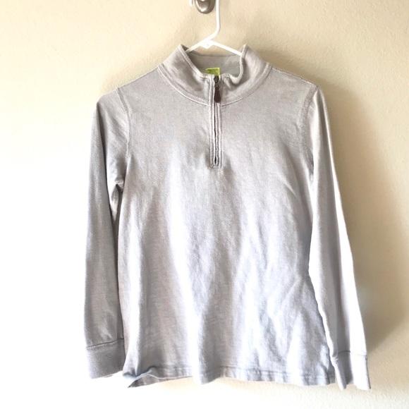 Crewcuts Other - 4/$25 Crewcuts Gray Quarter Half Zip Sweatshirt 14